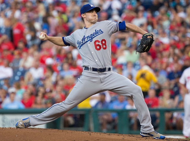 Los Angeles Dodgers pitcher Ross Stripling