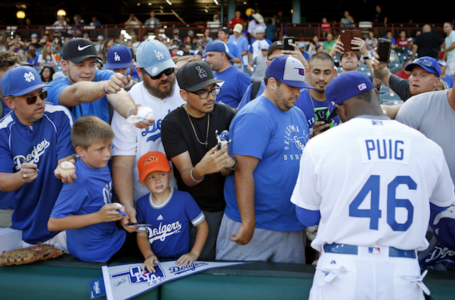 Dodgers News: Andrew Friedman Visited Yasiel Puig In Oklahoma City