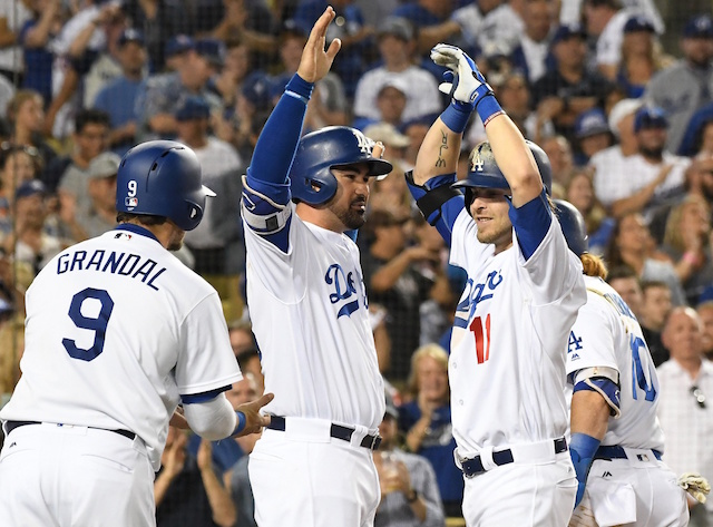 Dodgers Video: Josh Reddick Hits Grand Slam Against Rockies