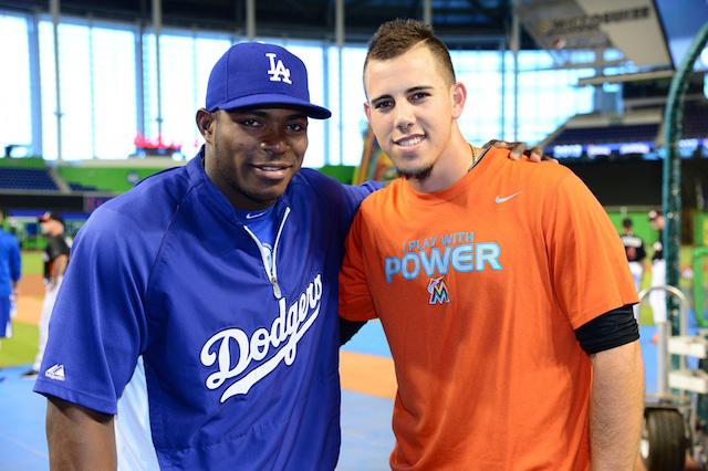 Dodgers News  Yasiel Puig Deeply Affected By Death Of  Close Friend  Jose  Fernandez bcfcc615c0d