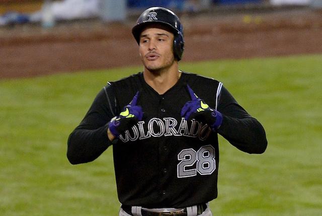 Dodgers News: Vin Scully Signed Nolan Arenado's 40th-home Run Bat
