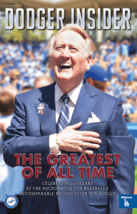 Vin Scully Dodger Insider cover