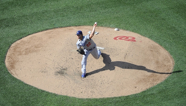 2016 Nlds: Clayton Kershaw, Max Scherzer Kick Things Off In Game 1 Between Dodgers-nationals