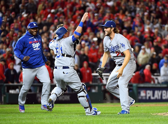 Dodgers Video: Clayton Kershaw Earns Save In Nlds Game 5