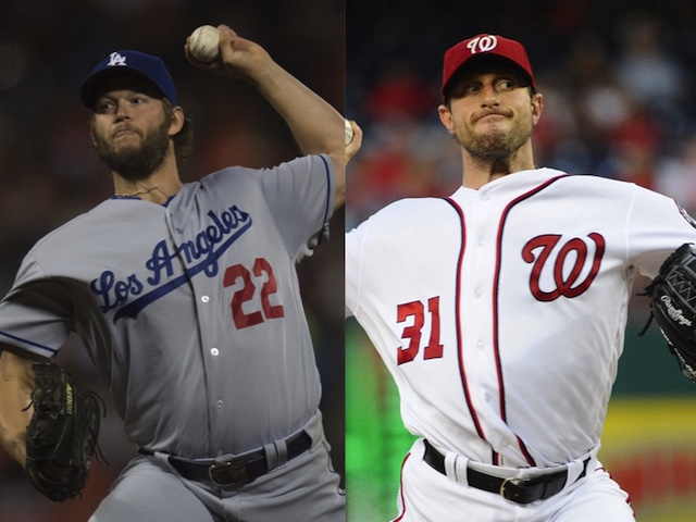2016 Nlds Tale Of The Tape: Dodgers' Clayton Kershaw, Nationals' Max Scherzer