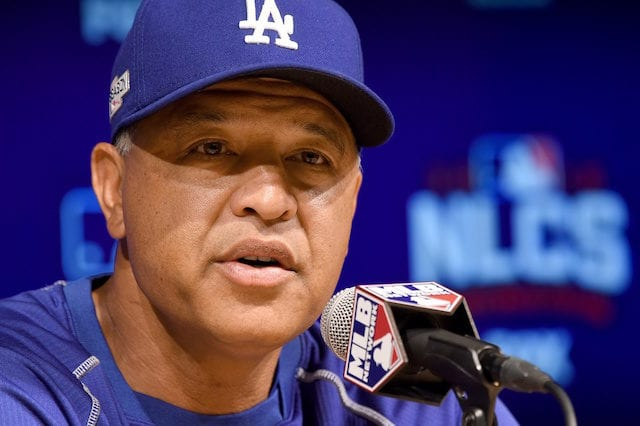 Dave Roberts, Los Angeles Dodgers, NLCS