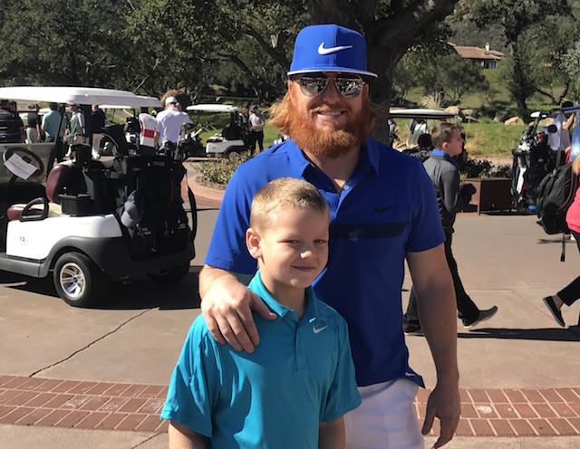 2nd Annual Justin Turner Golf Classic: Dodgers 3rd Baseman Honors Luke Lang