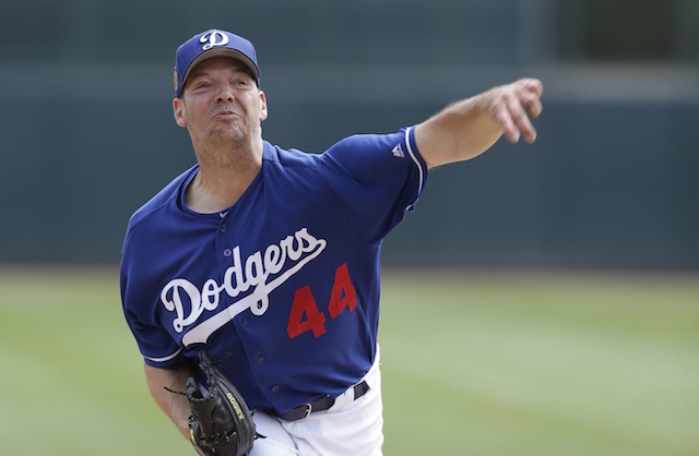 Rich Hill, Dodgers