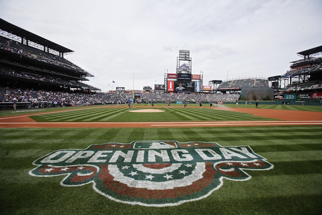 Coors Field, 2017 Opening Day
