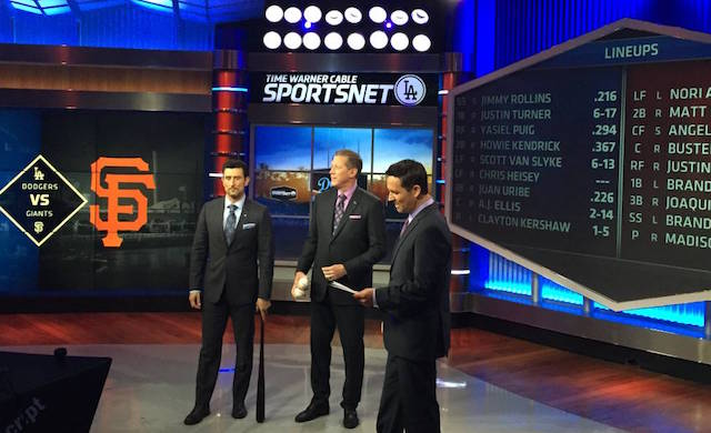 Behind The Cameras At Time Warner Cable's Sportsnet La