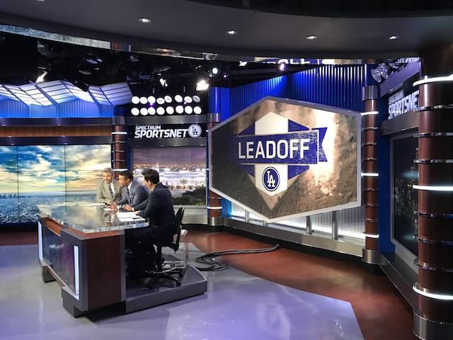 SportsNet LA set