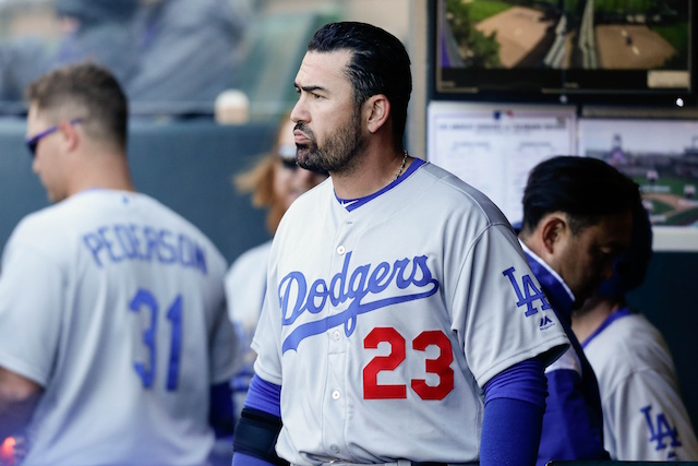 Dodgers News: Adrian Gonzalez To 'ramp Up' In Light Of Andrew Toles' Season-ending Knee Injury
