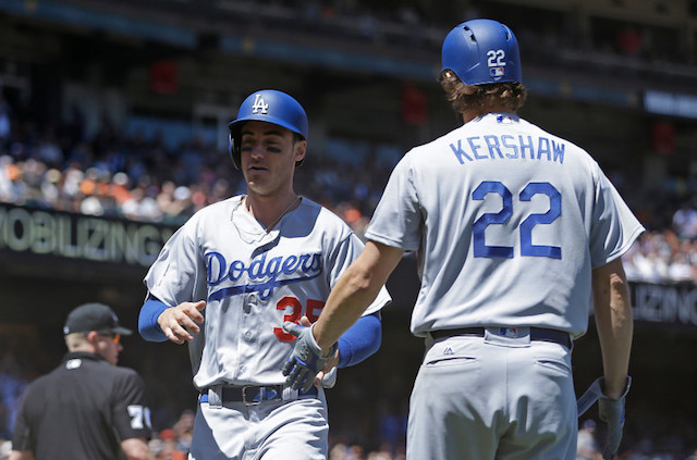 low priced 98a52 9d448 Dodgers News: Clayton Kershaw, Cody Bellinger Place Within ...