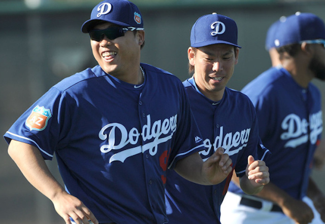 Dodgers News: Dave Roberts Intrigued By 'pretty Lethal' Duo Of Kenta Maeda, Hyun-jin Ryu