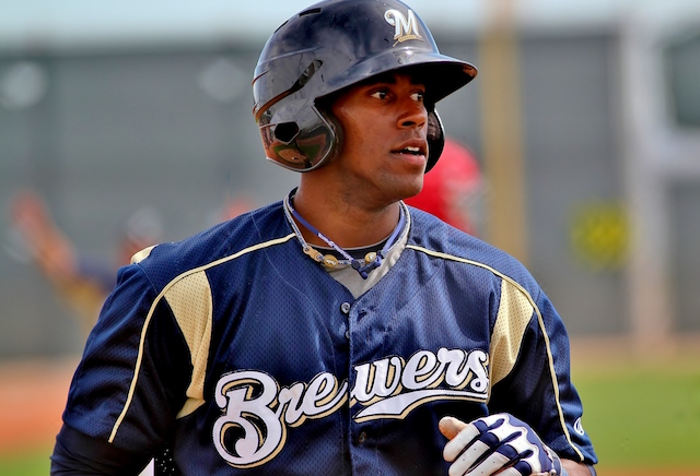 Dodgers Trade For Brewers Outfielder Victor Roache