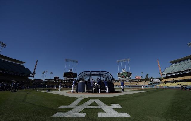 Dodger-stadium-batting-practice-view
