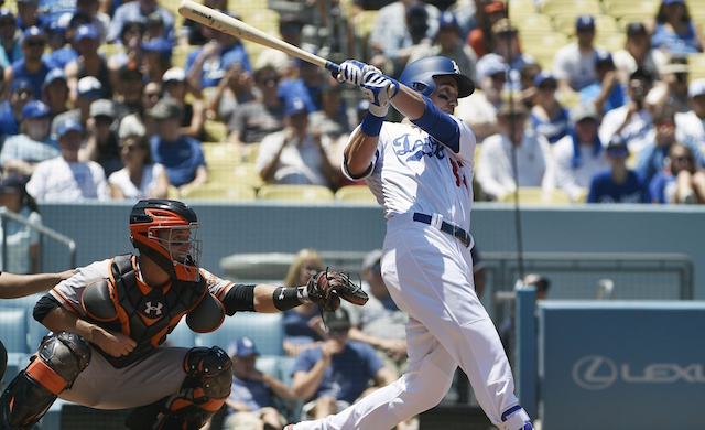 Corey Seager, Cody Bellinger Tag-team Leads Dodgers To Win Over Giants