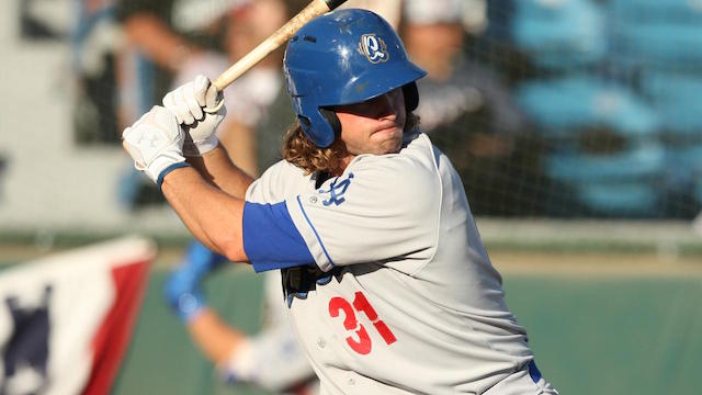 Dodgers Video: Quakes' D.j. Peters Hits 2 Home Runs Off Madison Bumgarner