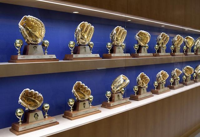 Dodger Stadium Gold Glove Awards