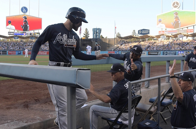Braves Trounce Brandon Mccarthy To Snap Dodgers' Winning Streak
