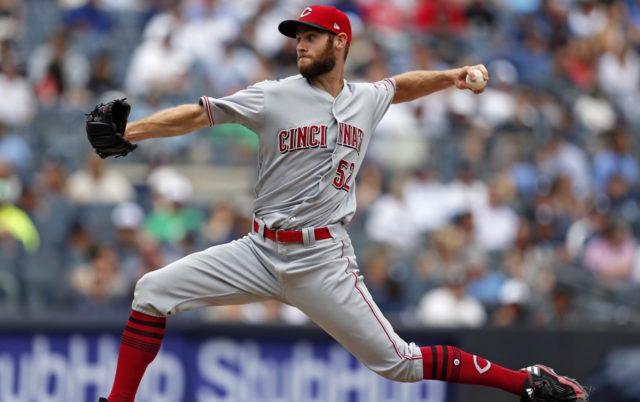 Tony Cingrani, Cincinnati Reds, Los Angeles Dodgers
