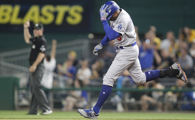Curtis Granderson Makes Mlb History With Grand Slam, Yasiel Puig's Home Run Lifts Dodgers Past Pirates In Extra Innings
