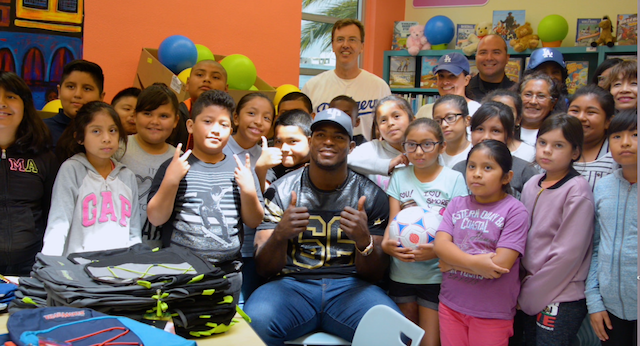 Dodgers News: Yasiel Puig, Wild Horse Foundation Provide For Los Angeles Unified School District