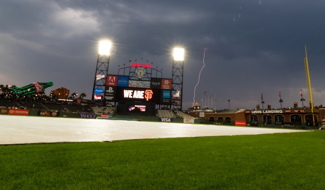 Dodgers-Giants Series Opener Postponed, First Pitch For Saturday's Game Pushed Back To 3:05 p.m. PT