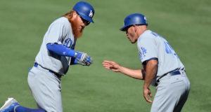Justin Turner, Chris Woodward, Dodgers