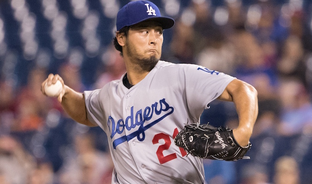 130fbe2e451 MLB Free Agency Rumors  Dodgers Made Similar Contract Offer To Yu Darvish  As Cubs