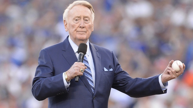 Vin Scully, Dodgers