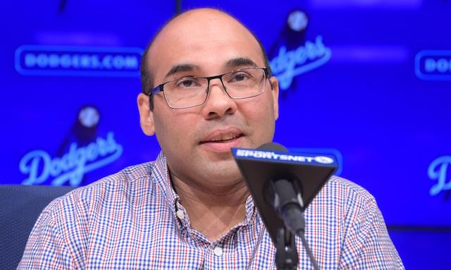 Farhan Zaidi, Dodgers