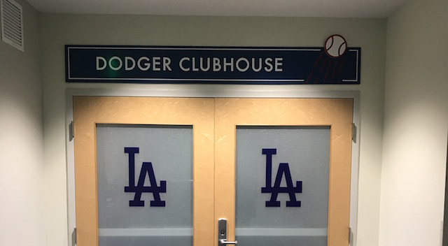 Dodger Stadium Clubhouse Tour Provides Fans With