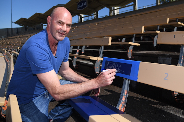 Kirk Gibson, 1988 World Series commemorative seat