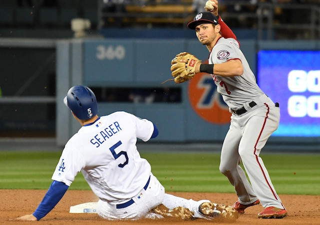 Dodgers vs. Nationals series schedule, results