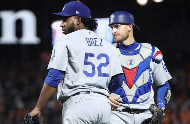 Dodgers News: Pedro Baez Balk A Result Of Getting 'Caught' In Mud