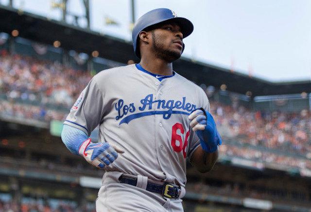 Dodgers News  Yasiel Puig Not Worried About Free Agency - DodgerBlue.com 8de15dd6958