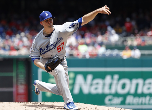 Dodgers News: Alex Wood Not Concerned By Latest Bout With Cramps That Forced Him To Leave Start Against Nationals