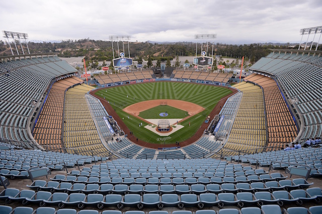 Dodger Stadium general view