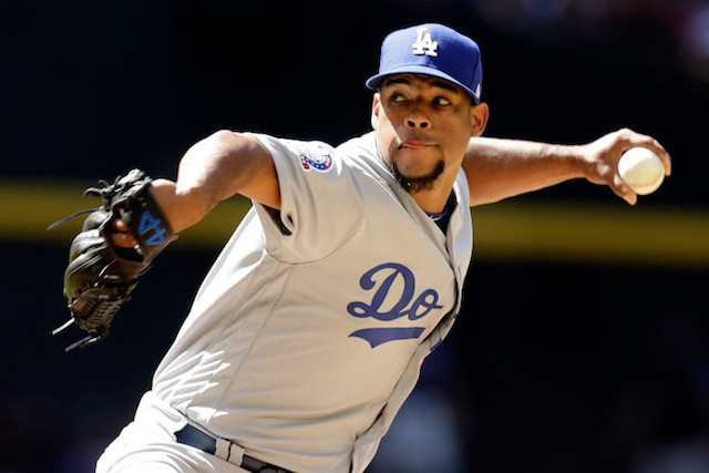 Edward Paredes, Dodgers