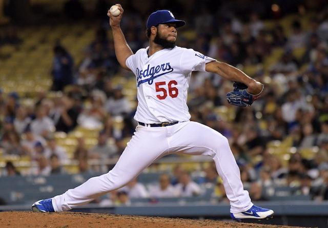 Daniel Corcino, Dodgers