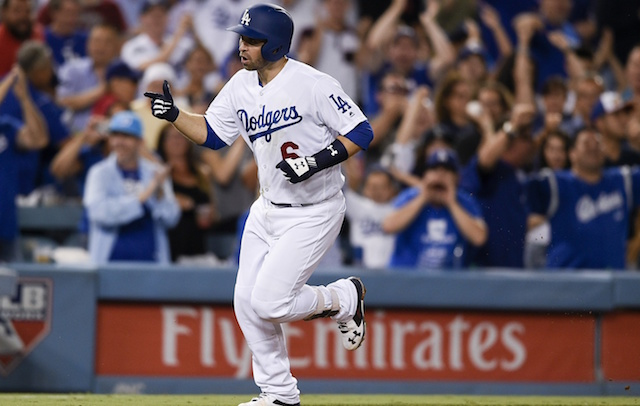 brand new 60f3c 656a9 Dodgers Highlights: Brian Dozier Homers In Debut, Yasmani ...