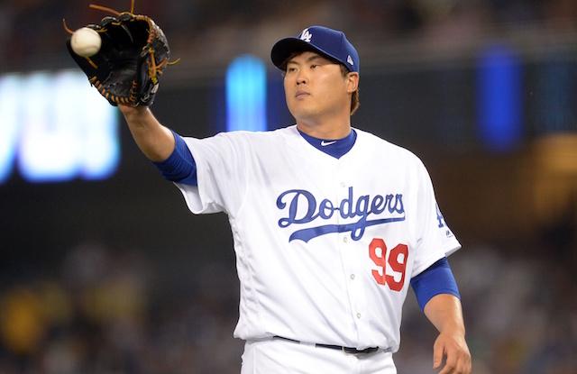 72077e6cd Dodgers Free Agency News  Hyun-Jin Ryu Receives Qualifying Offer ...
