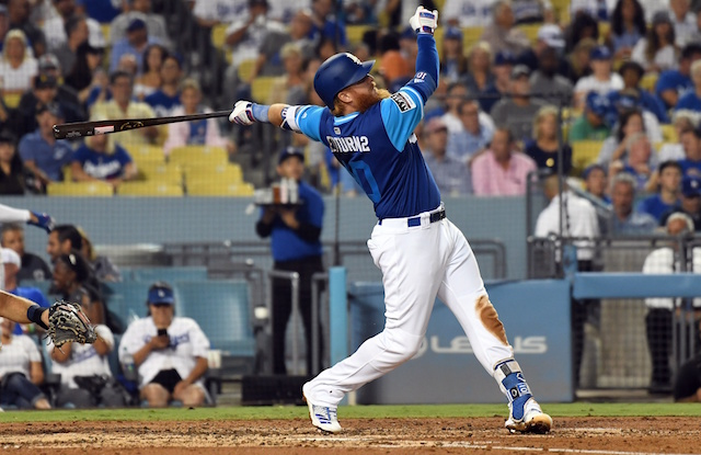 9e73decd0 Dodgers Beat Padres On Justin Turner s Walk-Off Single After Kenley ...