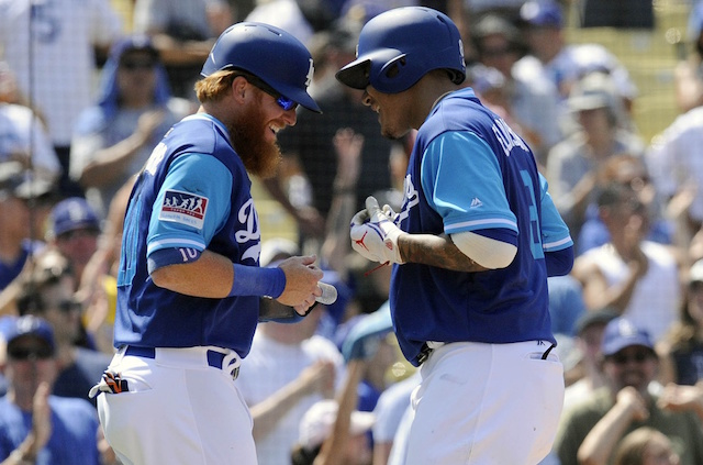 Manny Machado, Justin Turner, Los Angeles Dodgers