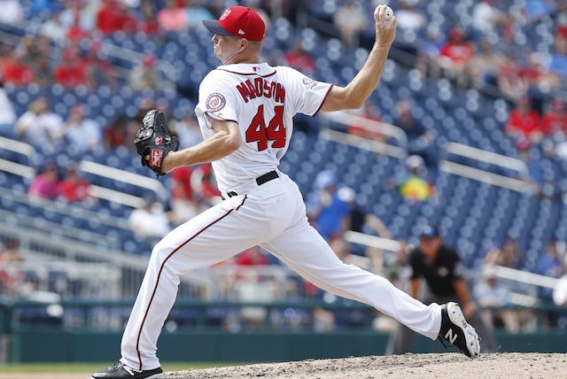Los Angeles Dodgers acquire Ryan Madson from Washington Nationals
