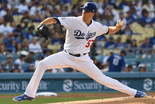 Alex Wood, Dodgers