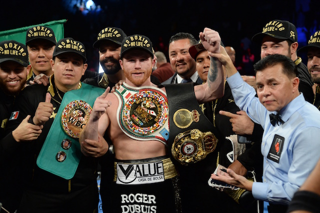 What time does the Canelo Alvarez-Gennady Golovkin fight start?