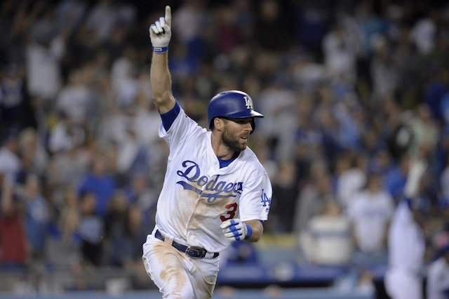 Chris Taylor, Dodgers walk-off win