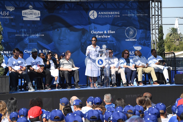 60bcba3bb8ccb Los Angeles Dodgers Foundation Donated  1.6 Million In Grants To ...